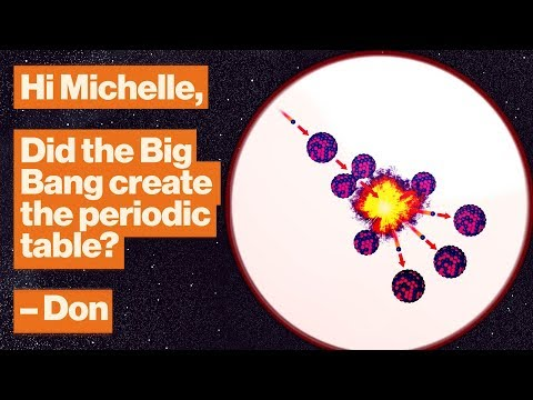 Where Do Atoms Come From? Billions Of Years Of Cosmic Fireworks. | Michelle Thaller | Big Think