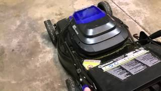 Kobalt 80V Lithium Powered Lawn Mower Review