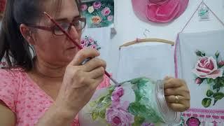 Como Pintar Potes de Vidro com Tinta para Tecido