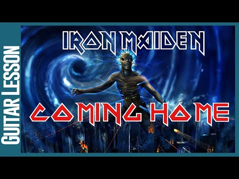 Coming Home By Iron Maiden - Guitar Lesson Tutorial