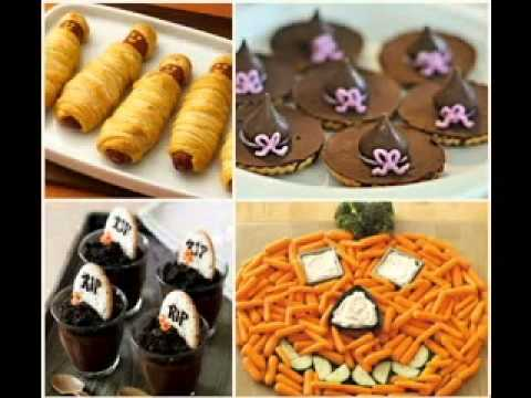 creative halloween food decorations ideas for parties youtube
