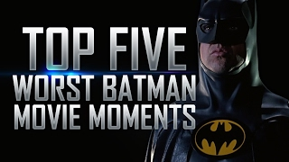 Top 5 worst batman movie moments