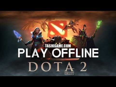 dota 2 offline for pc tutorial install link download youtube