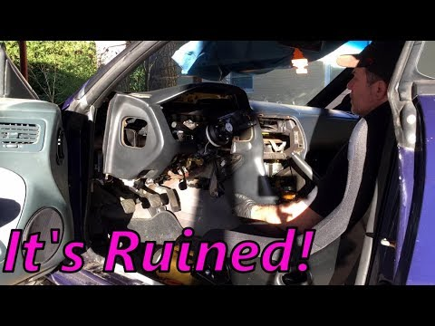 engine harness & dash removal - ls1 240sx (s14) drift build (ep 39)
