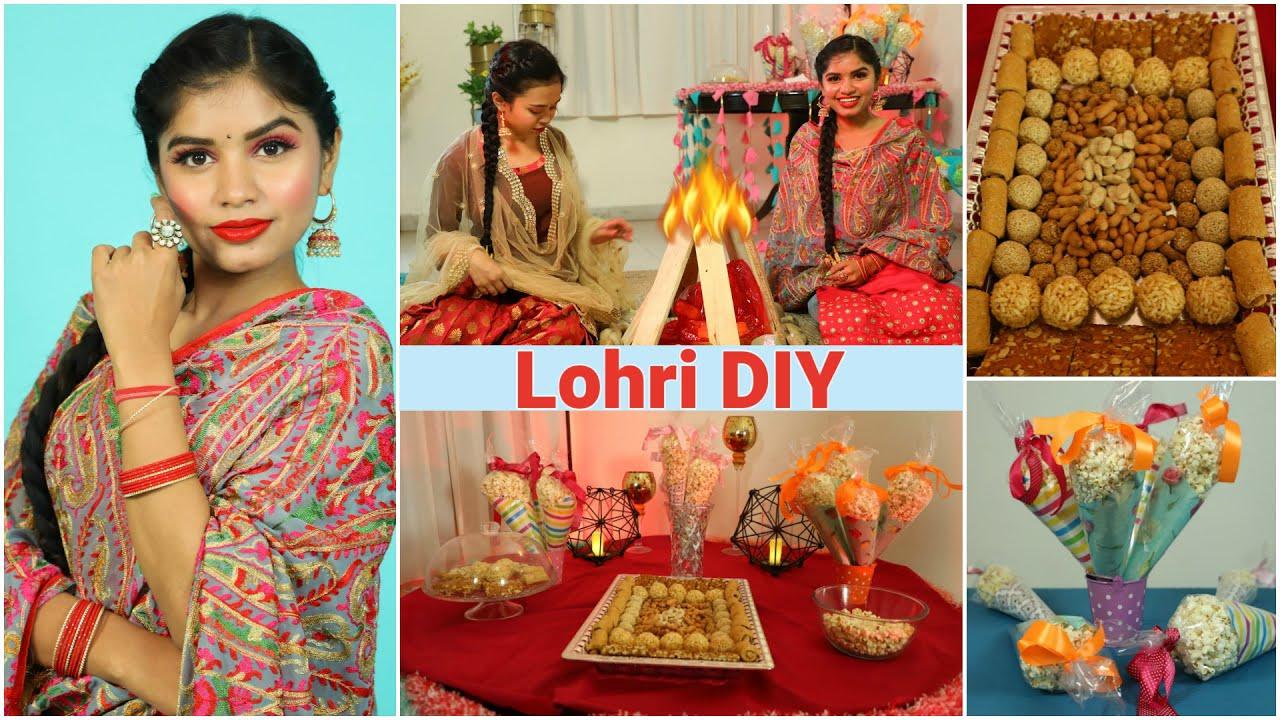 LOHRI DIY & Punjabi Look Ideas | DIYQueen