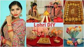 LOHRI DIY & Punjabi Look Ideas | DIYQueen