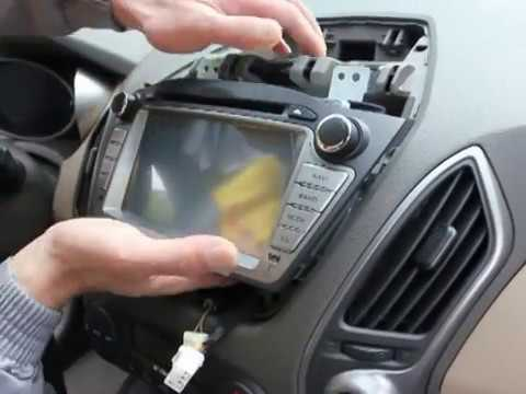 Car Dvd Player Wiring Diagram Uniway How To Install Car Dvd For Hyundai Ix35 Tucson Gps