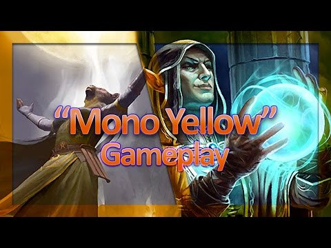 """(TES: Legends) """"Mono Yellow"""" Laddering - Alkosh is Back!"""