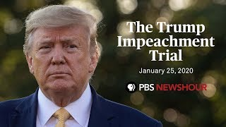 WATCH: Senate impeachment trial of Donald Trump | January 25