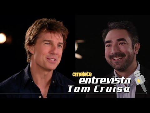 Tom Cruise - A Múmia   Omelete Entrevista