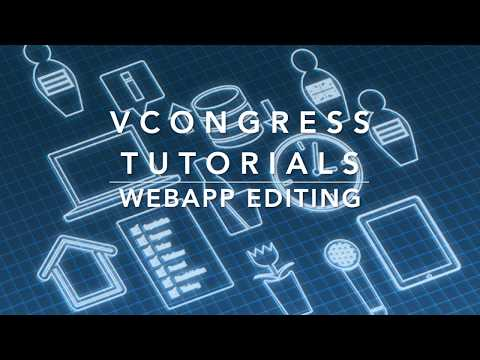 SciSerTec's vCongress Tutorial - WebApp Editing thumbnail