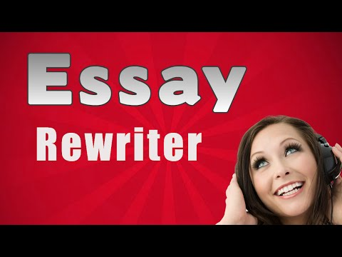 Essay rewriter program