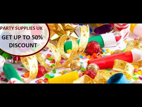 Party Supplies UK - Unbeatable Prices & Quantity