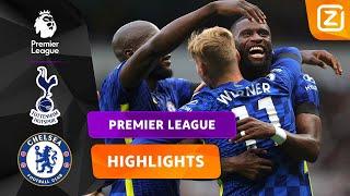 WAT DOET RÜDIGER DIT GOED! 🧠 | Tottenham vs Chelsea | Premier League 2021/22 | Samenvatting