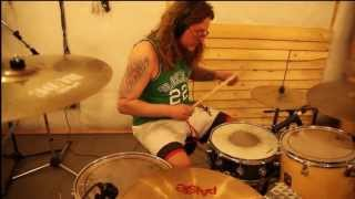 Jimi Hendrix - Foxey Lady (drum cover by Max Znaevski of Lowriderz)