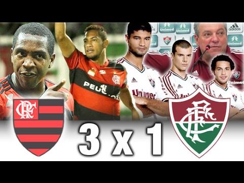 Flamengo 3 x 1 Fluminense * Carioca 2013 * Melhores Momentos