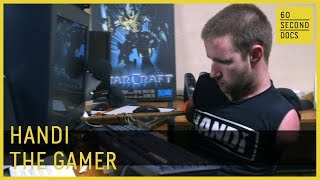 Handi the Gamer || Counter-Strike Twitch Player // 60 Second Docs