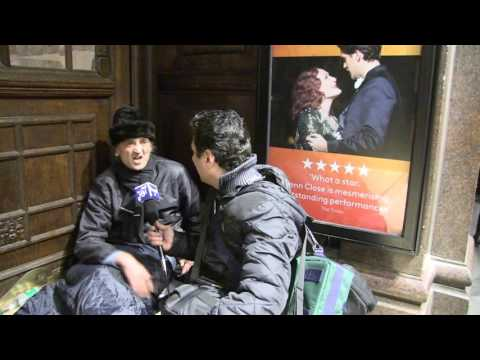 Rough sleepers in London Multimedia project