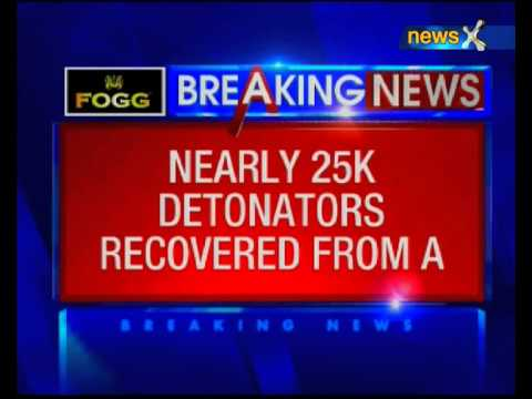 Nearly 25 thousand detonators have been from an SUV in Bankura district, West Bengal