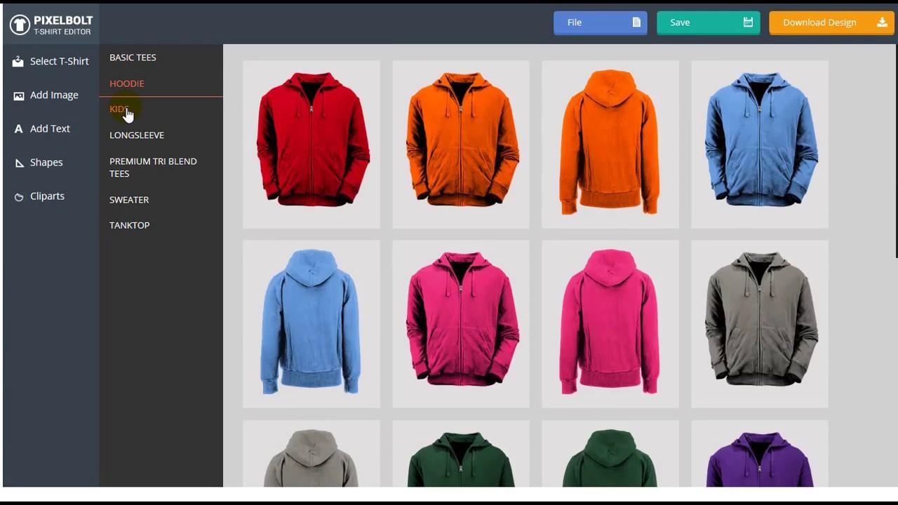 Design t shirt program - Easy T Shirt Creator Software Wordpress Plugin Pixelbolt Net
