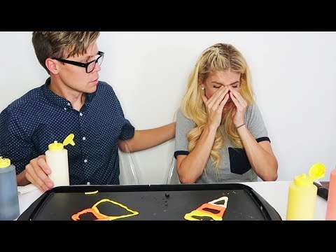 HALLOWEEN PANCAKE ART CHALLENGE GONE WRONG (EMOTIONAL) NOT CLICK BAIT!