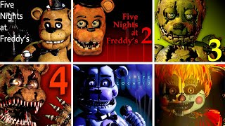 Five Nights at Freddy's 1 2 3 4 SL FFPS & UCN FNaF Jumpscare Simulator