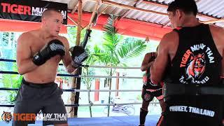Ufc Welterweight Champion Georges St-pierre (gsp) Trains @ Tiger Muay Thai & Mma