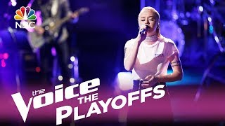 "The Voice 2017 Chloe Kohanski - The Playoffs: ""Time After Time"""