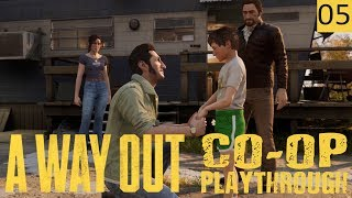A WAY OUT - PART 5 - PHYSICAL and EMOTIONAL Struggle - Co-Op Gameplay (1440p)