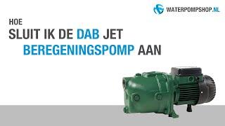 Aansluiten van de DAB Jet Beregeningspomp