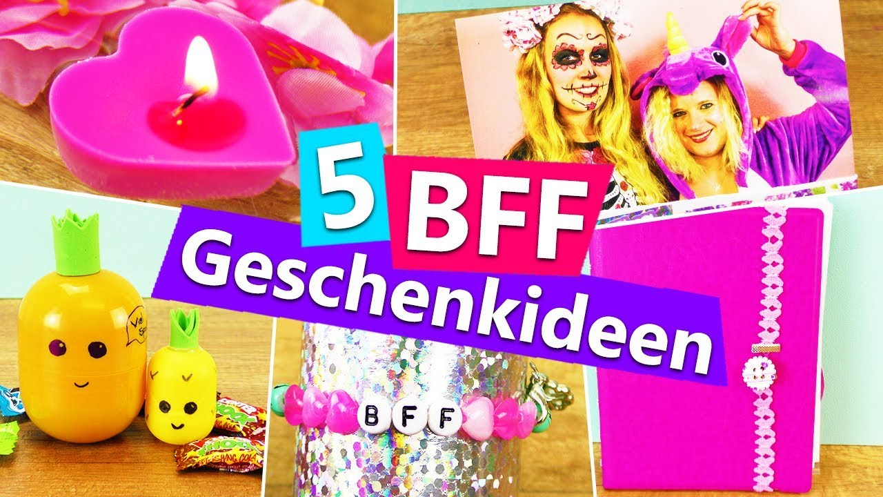 5 diy geschenkideen f r die beste freundin bff berraschen mit kleinigkeiten einfach. Black Bedroom Furniture Sets. Home Design Ideas