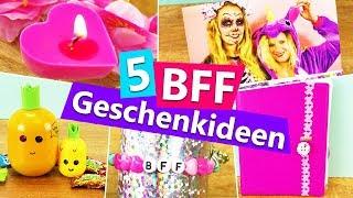 5 DIY GESCHENKIDEEN für die beste Freundin | BFF überraschen mit Kleinigkeiten | einfach + günstig