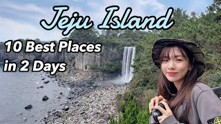 Visiting 10 places in Jeju in 2 days. |Jeju travel guide