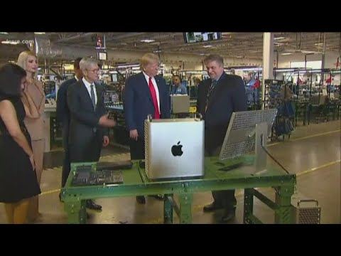 President Trump visits Austin, tours Apple | KVUE