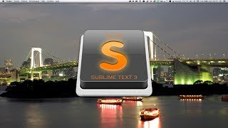 Tutoriel SublimeText 3 : Presentation Sublime Text 3.
