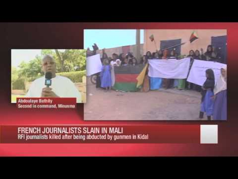 Second in Command of UN Mission in Mali (MINUSMA) talks to France24