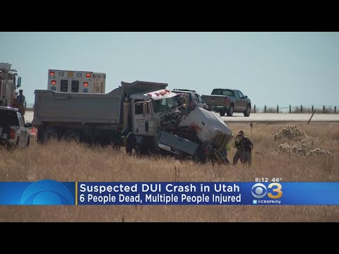 Officials: Suspected DUI Crash Kills 6, Injures Many In Utah