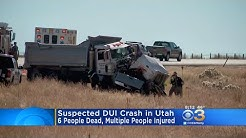 Officials: Suspected DUI Crash Kills 6, Injures Many In Utah