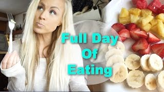 Full Day Of Eating + Healthy Grocery Haul