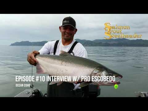 Pro Ocean Coho - Salmon Fishing The Big Water (Pro Escobedo Interview)