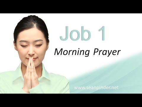 GOD IS BRAGGING ON YOU - JOB 1 - MORNING PRAYER