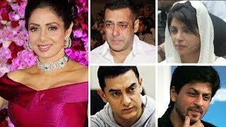 Sridevi passes away SHOCKED Bollywood celebs REACT | Twitter Reactions