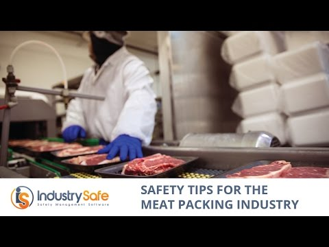 Safety Tips for the Meat Packing Industry