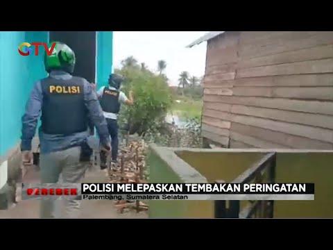 Polisi Gerebek Kampung Narkoba di Palembang #Gerebek 14/07