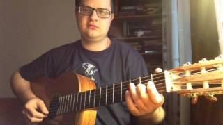 Видеоурок. Расположение нот на грифе гитары. Толя Ярцев