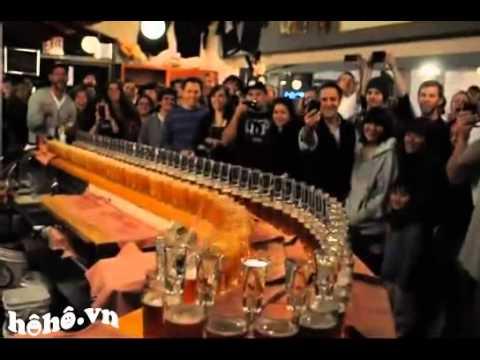 [hoho.vn] Pha chế Sake bomb cocktail nghệ thuật ^^