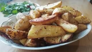 Картошка по селянски в духовке / полчаса и готово!