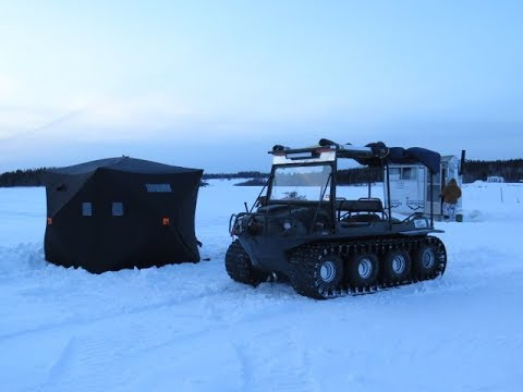 QS4 Ice Fishing Shelter Review ( Argo )