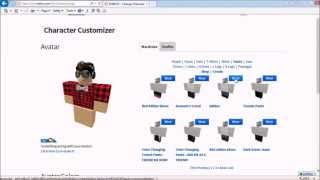 How to make your roblox character cool