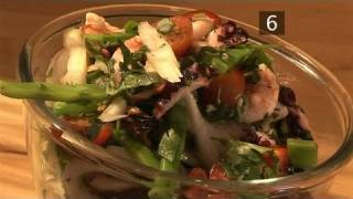 How To Make A Healthy Seafood Salad